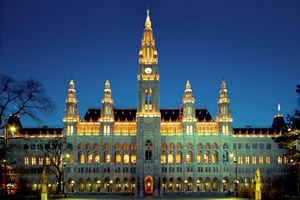 New Year's Eve Gala at Vienna City Hall